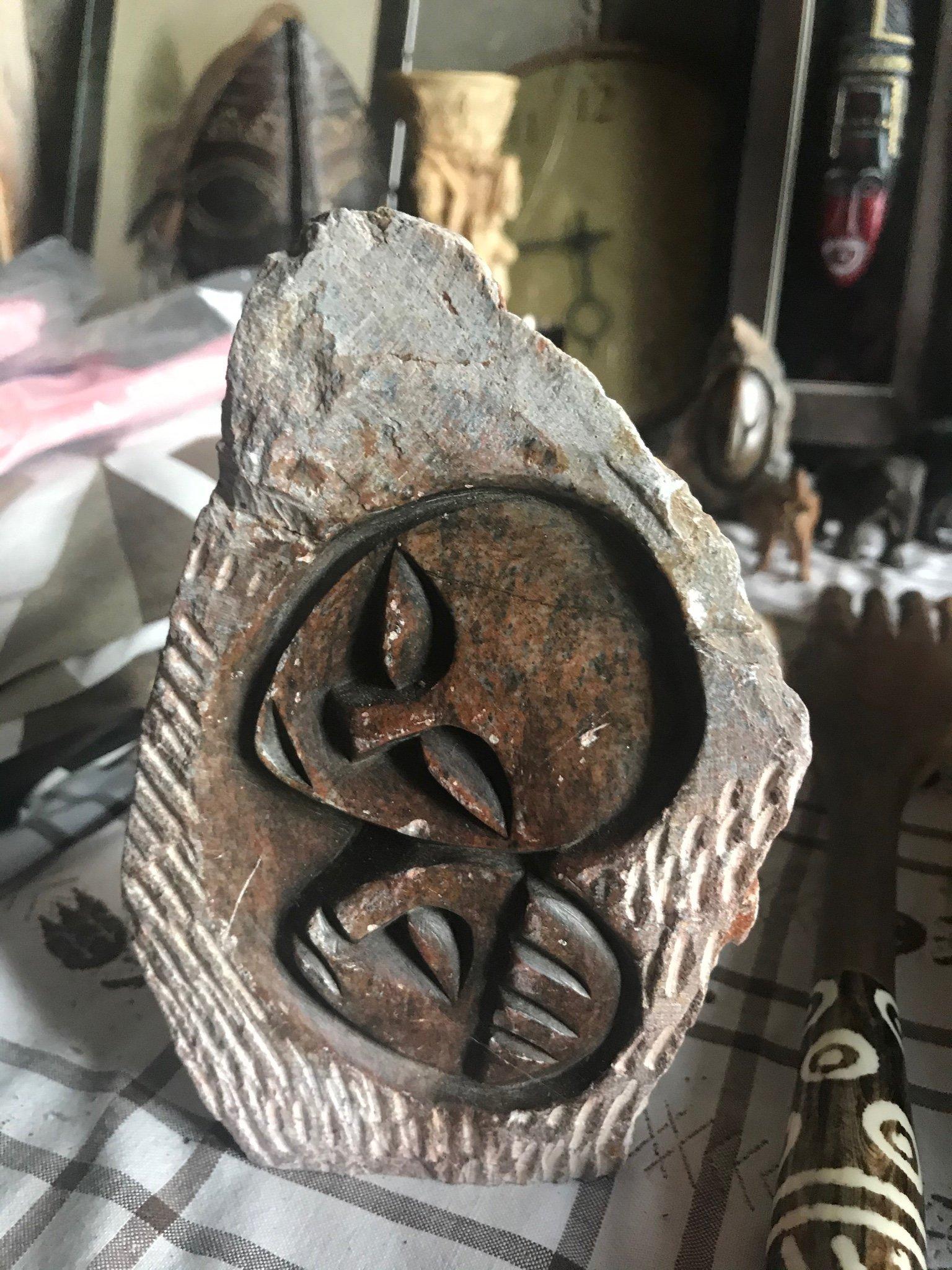 sten för prydnad