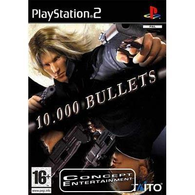 10.000 BULLETS /10000 (komplett) till Sony Playstation 2, PS2