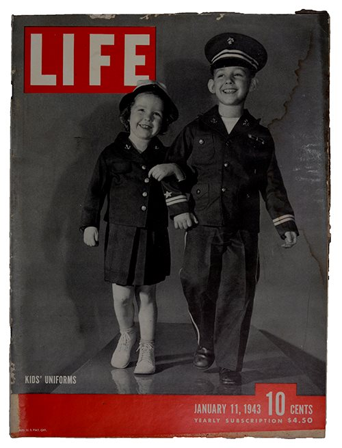 LIFE Kids uniform 1943-01-11