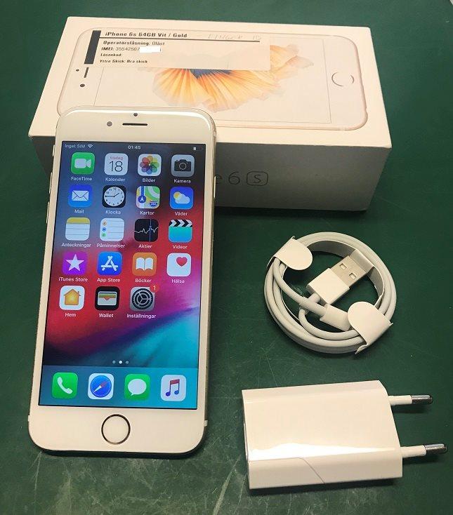 iPhone 6s 64GB Vit   Guld  e20a943263f0d