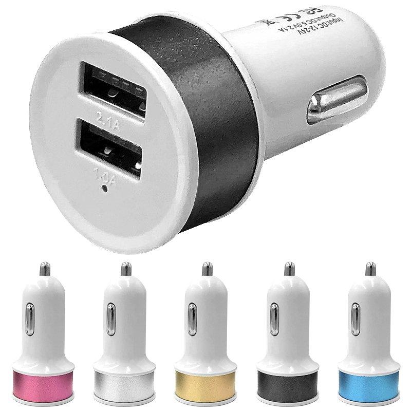 USB laddare 3 Uttag Snabbladdning för Vägguttag
