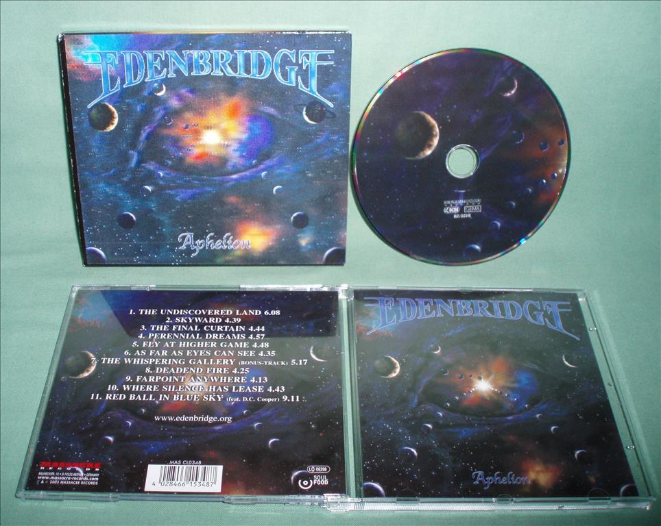 EDENBRIDGE - Aphelion , CD limited 2003 w 3-D Slipcase , RARE ,