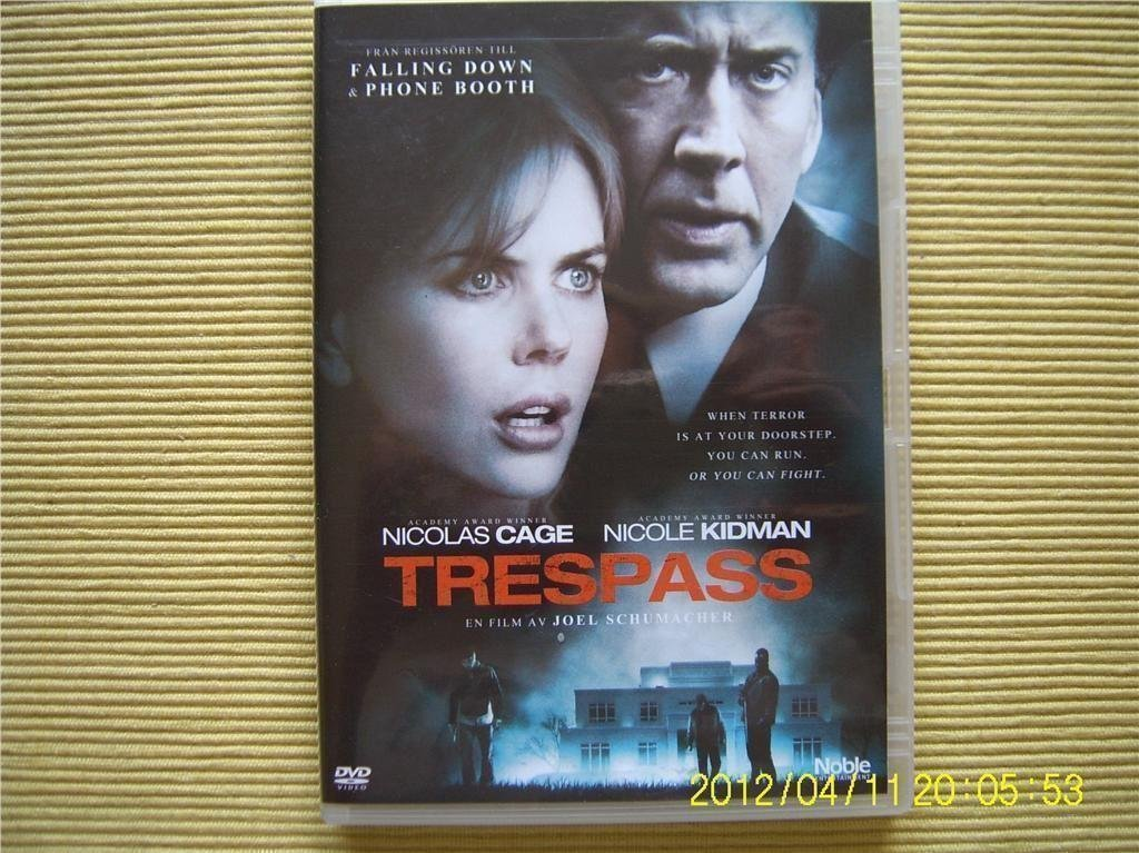 DVD - Trespass