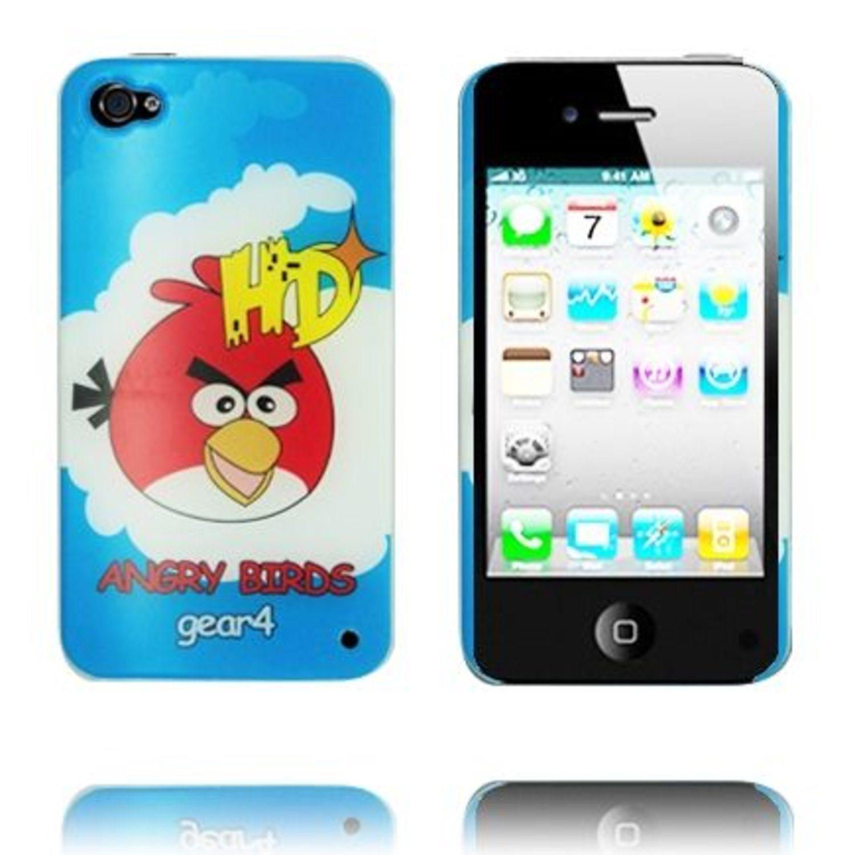Angry Birds iPhone 4 Skal (Ljusblå - Röd .. (267005236) ᐈ WePack på ... ecc4a9de454ba