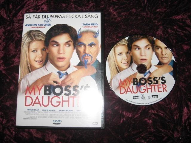 MY BOSS'$ DAUGHTER (ASHTON KUTCHER,TARA REID)DVD REG2