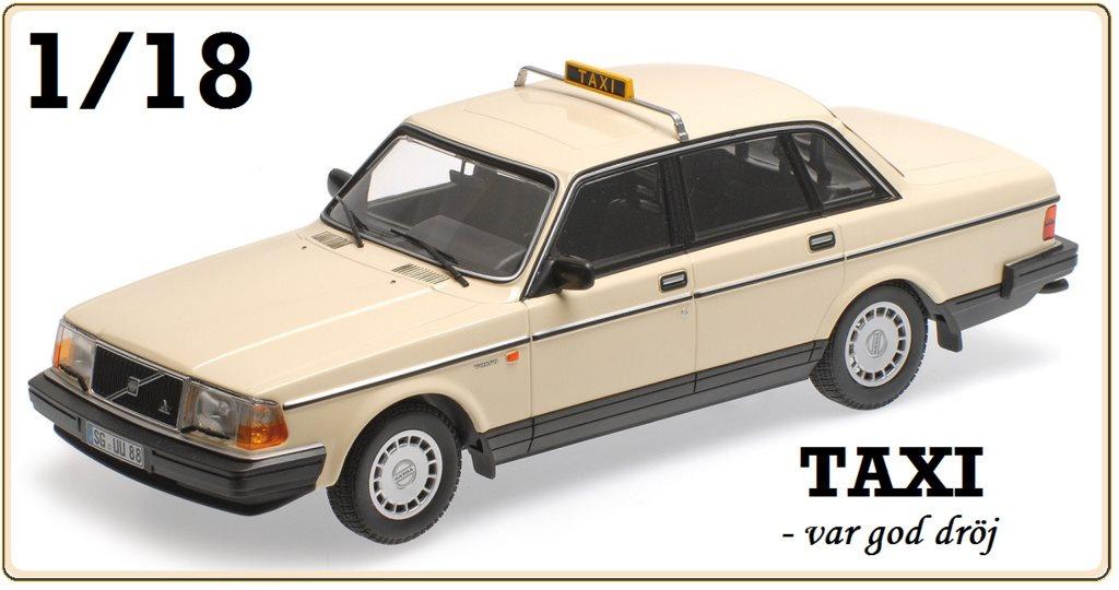 Volvo 240 (1986) - TAXI ..... 1/18