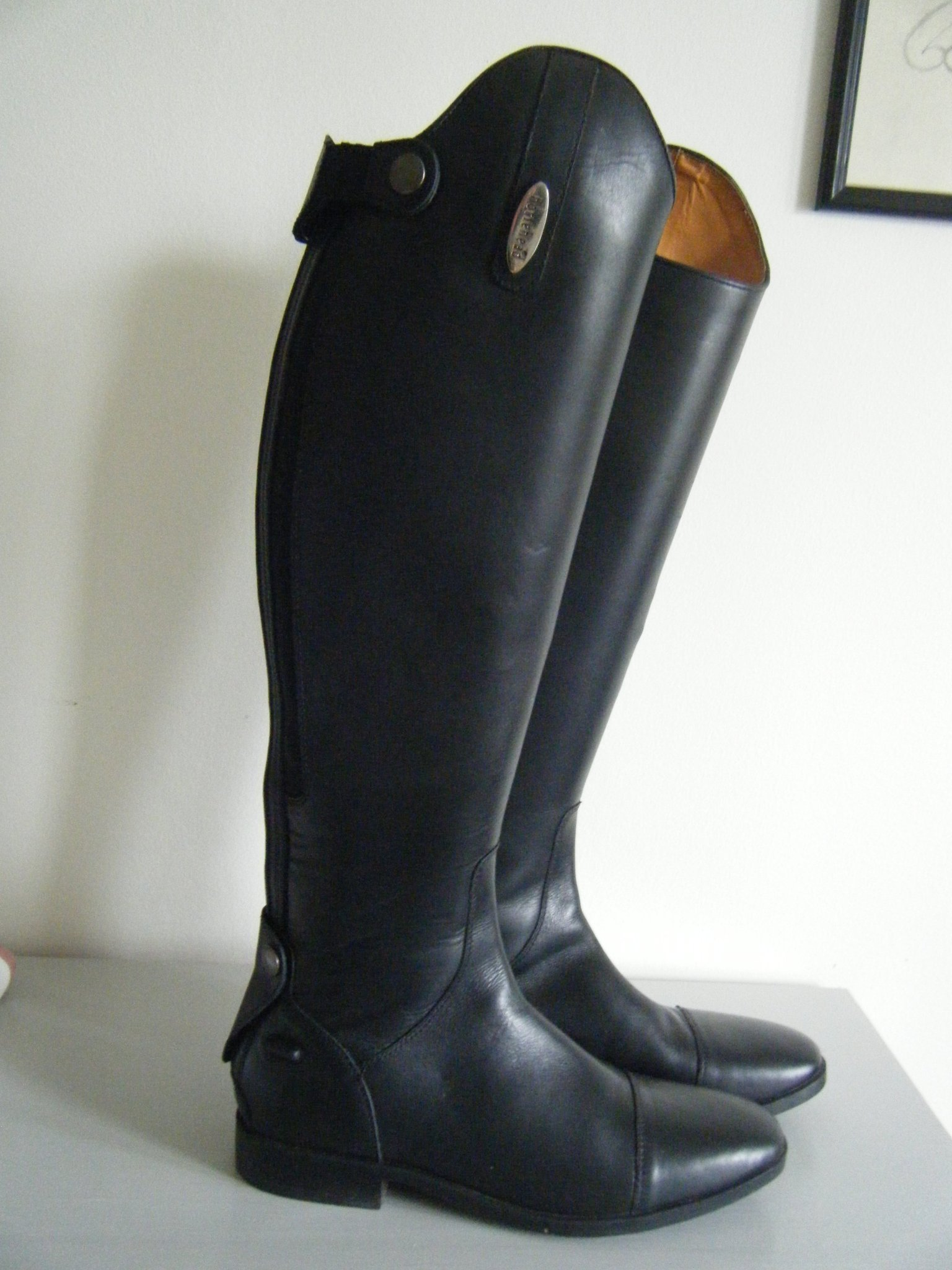 Leather riding boots Arezzo CRW®