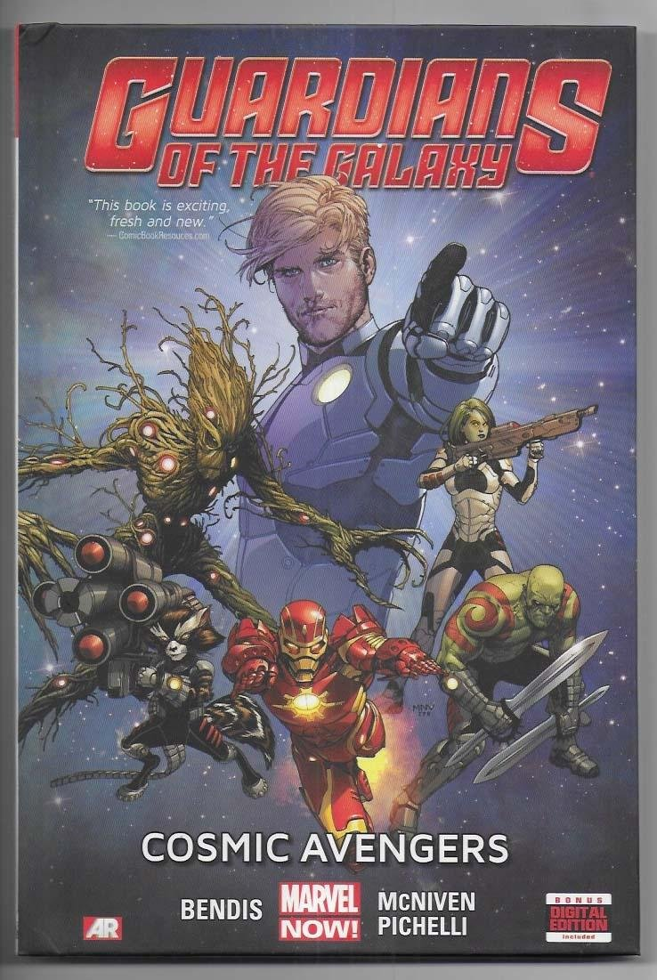 Guardians of The Galaxy Set Volume 1-5 HC NM Marvel NOW! Bendis