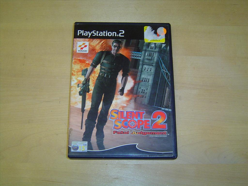 SILENT SCOPE 2 FATAL JUDGEMENT TILL SONY PLAYSTATION 2 PS2