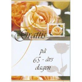 grattis på 65 årsdagen kort Grattis på 65 årsdagen  d.. (272712494) ᐈ handelauktionerpartier  grattis på 65 årsdagen kort