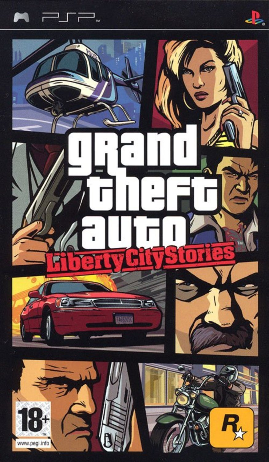 Grand Theft Auto: Liberty City Stories - Sony PSP