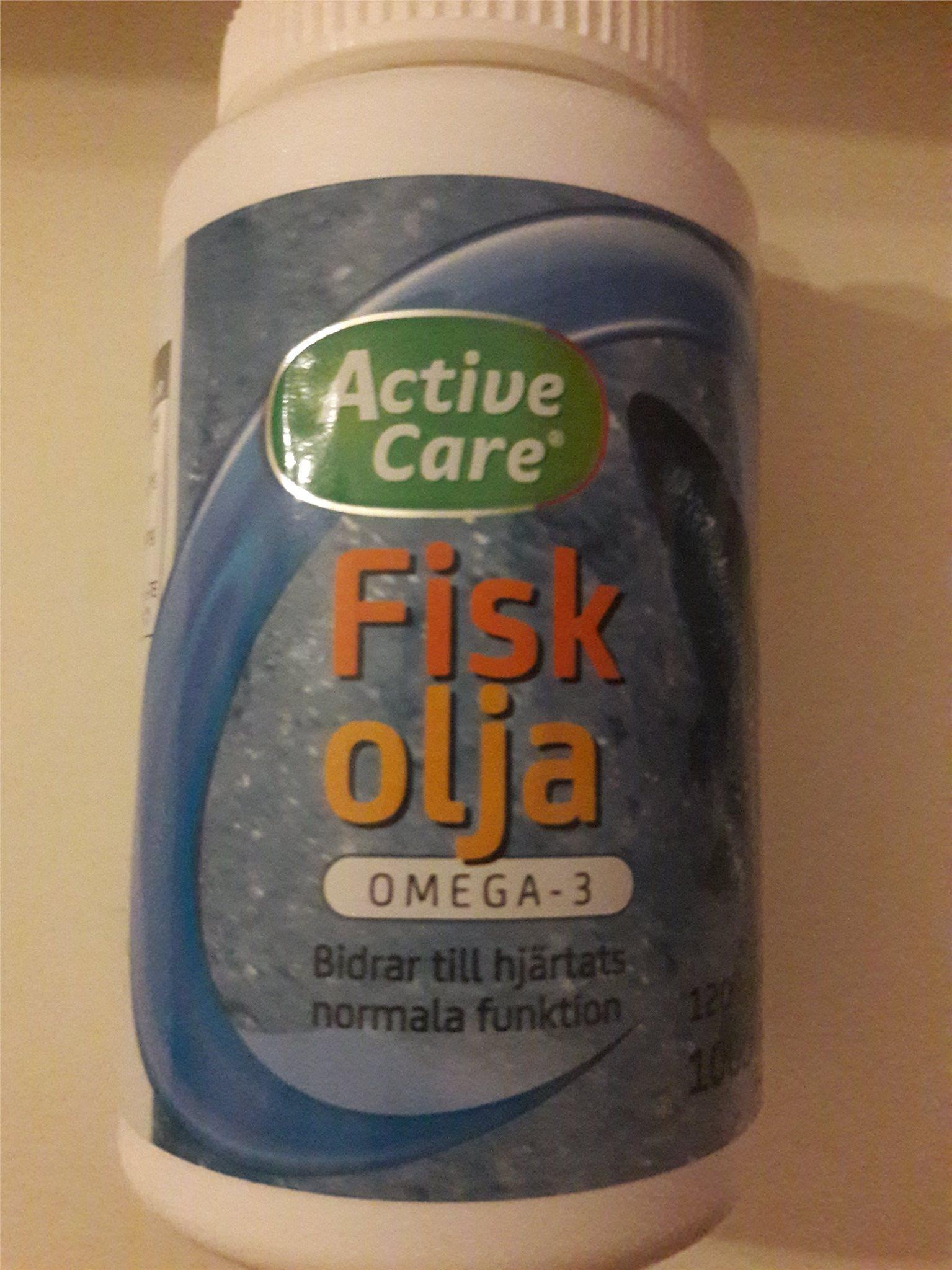 active care fiskolja