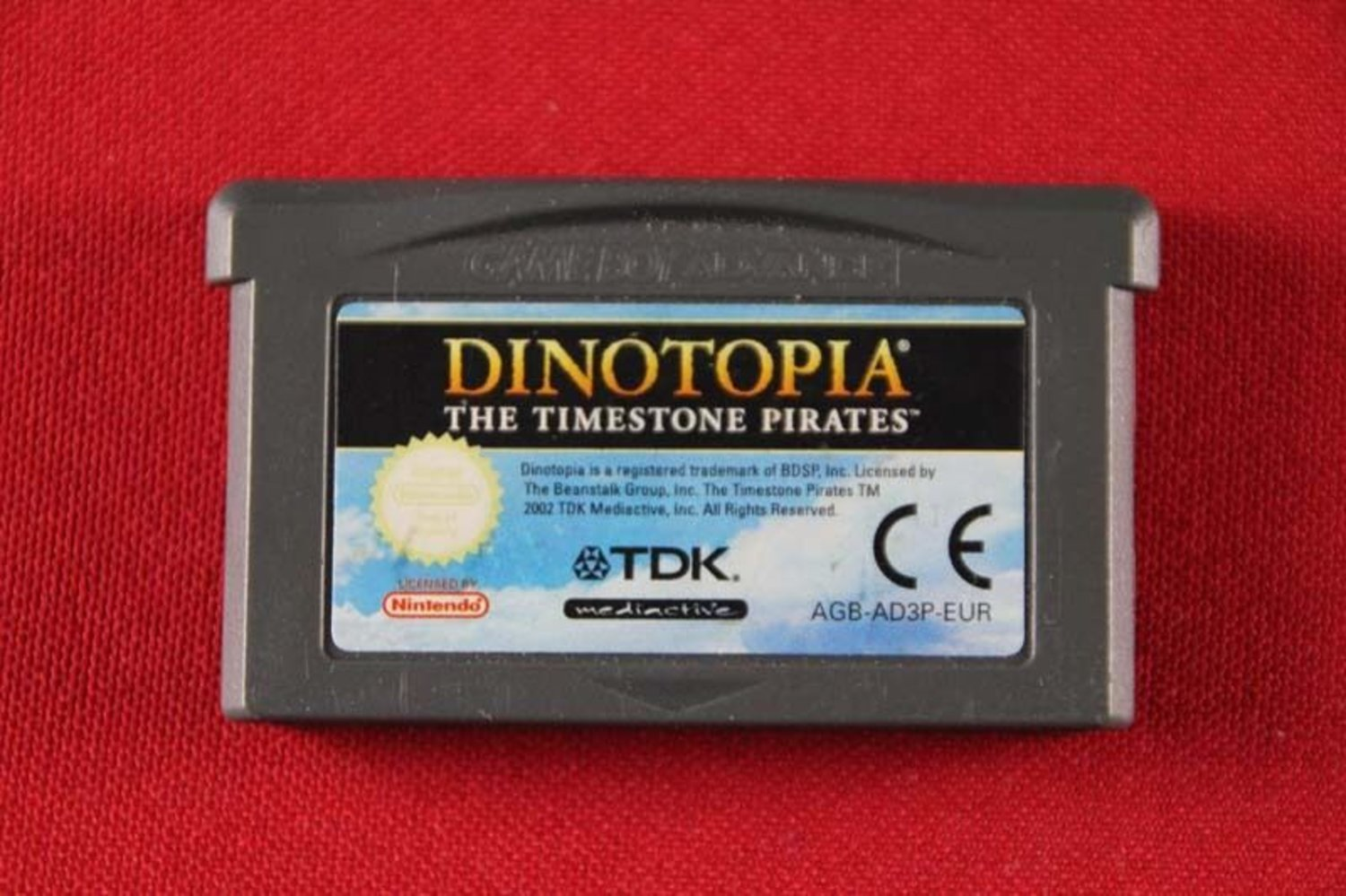 Dinotopia: The Timestone Pirates - Gameboy Advance