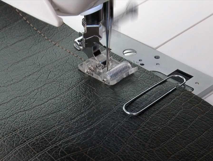 symaskin för skinnsömnad