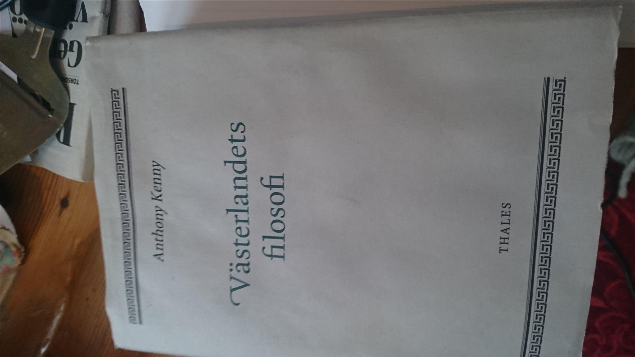 Västerlandets filosofi filosofi filosofi 44a03c