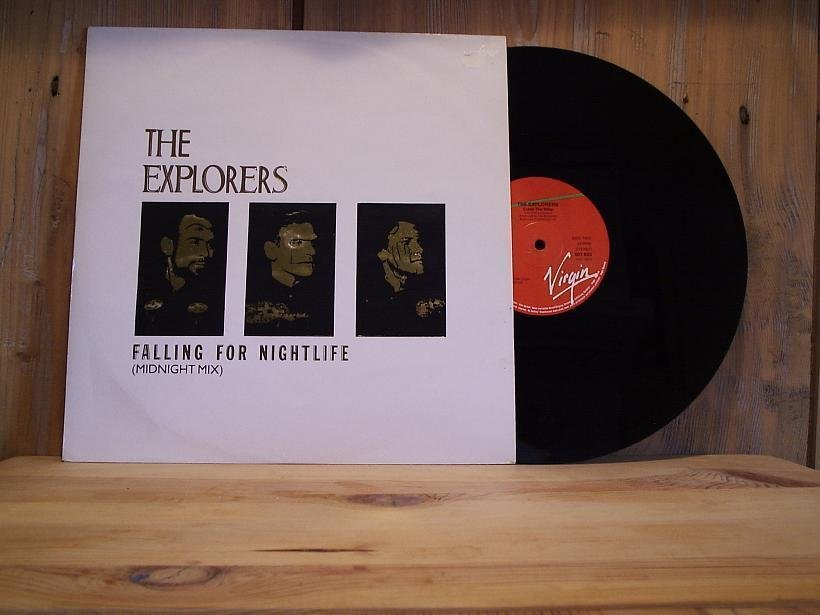 THE EXPLORERS / Falling For Nightlife +1 / 12''- 1984 / POP