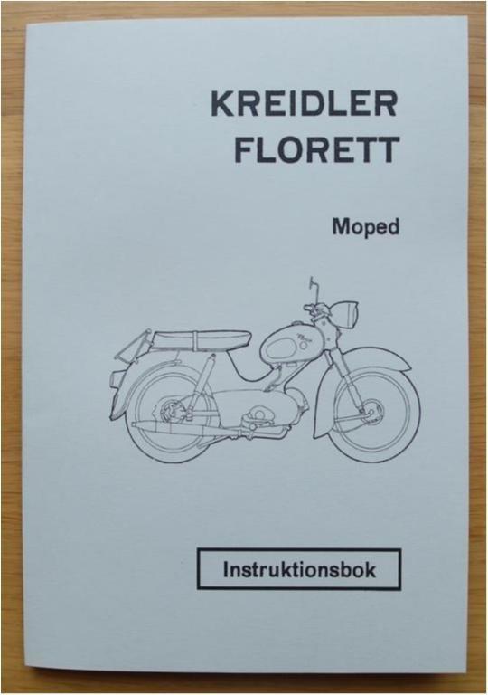 Instruktionsbok Kreidler Florett 1965