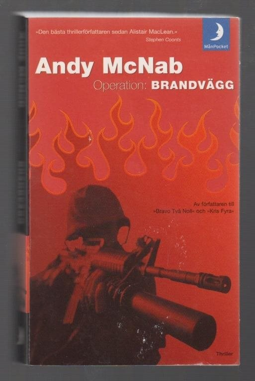 McNab, Andy: Operation: Brandvägg.
