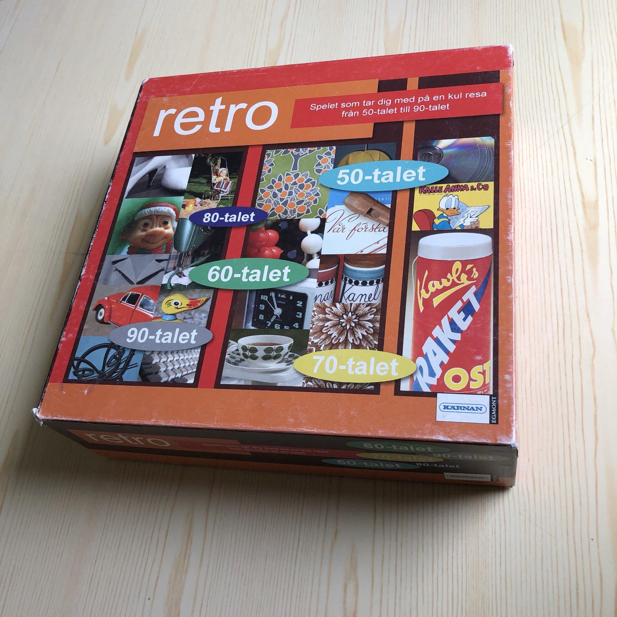 Ongebruikt Sällskapsspel Retro - spel (352373055) ᐈ Köp på Tradera PG-37