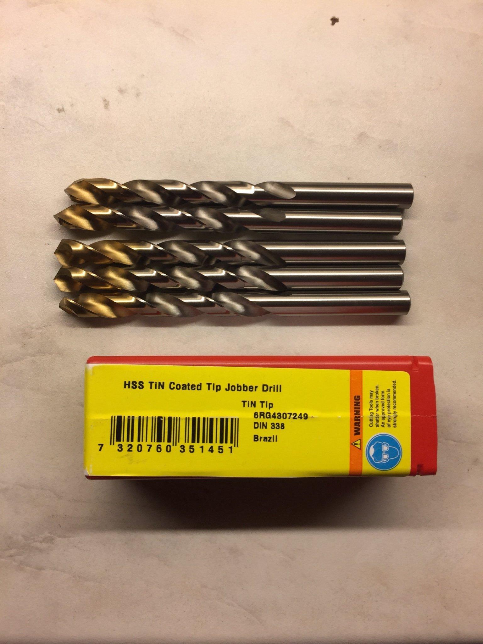 Dormer A002 HSS-TiN Coated Jobber Drill 10.00mm