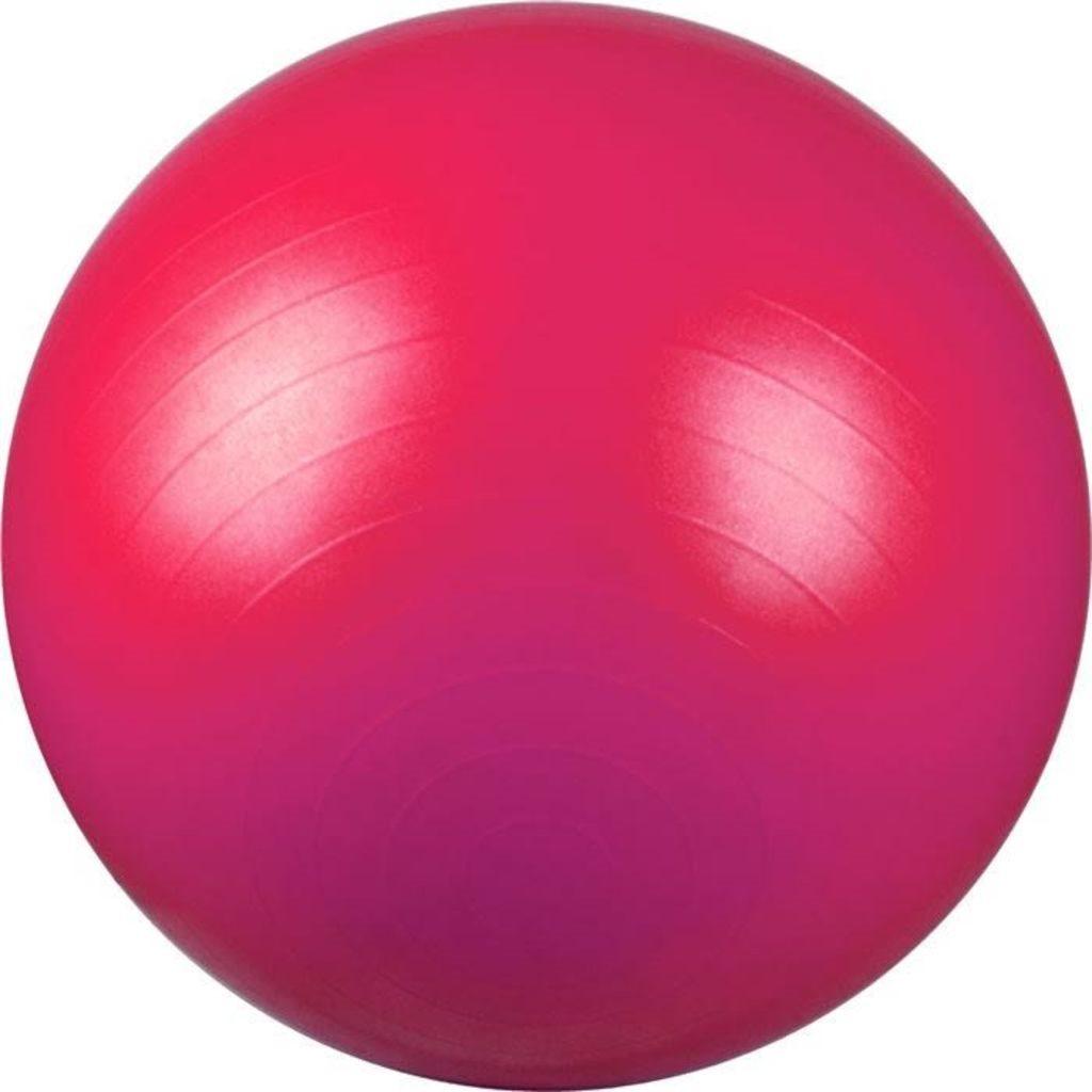 Avento Fitnessboll 65 cm rosa 41VM-ROZ