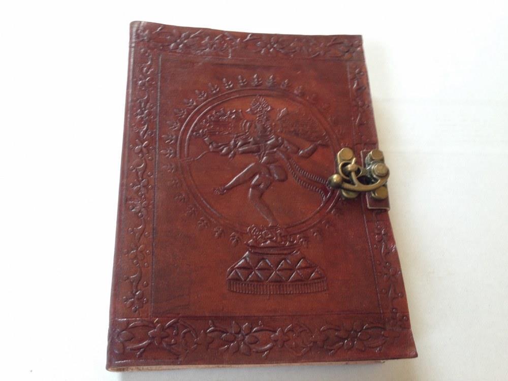 anteckningsbok med lås