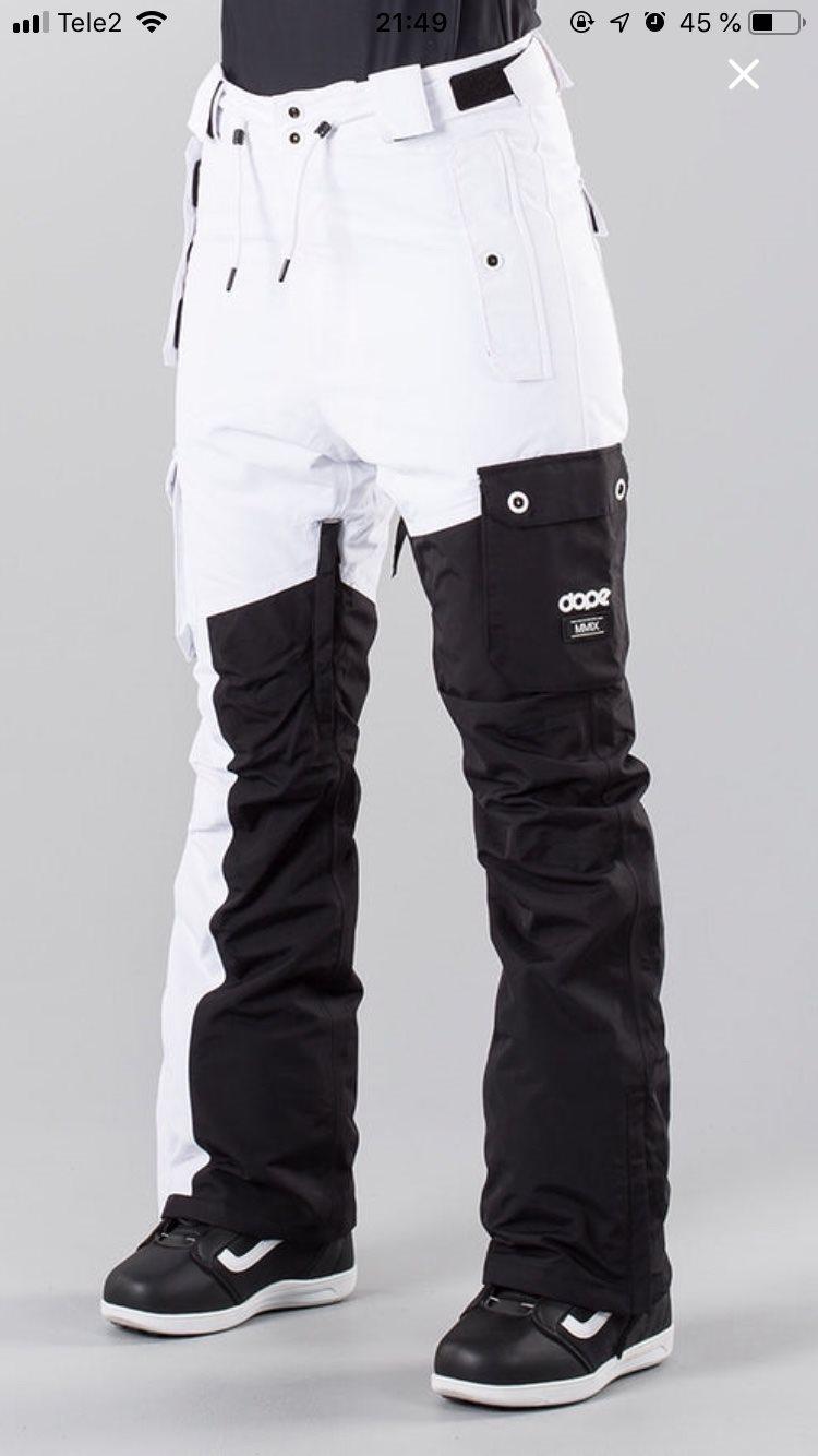 d2b40c3b22 Snowboardbyxor Dope Adept strl. XS (333239410) ᐈ Köp på Tradera