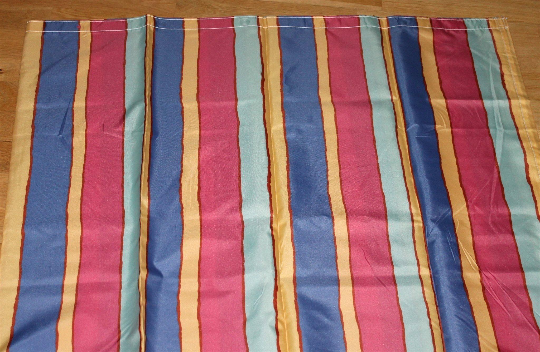 Nytt duschdraperi färgglatt randigt (340523983) ᐈ Köp på Tradera 838c80521b8c5