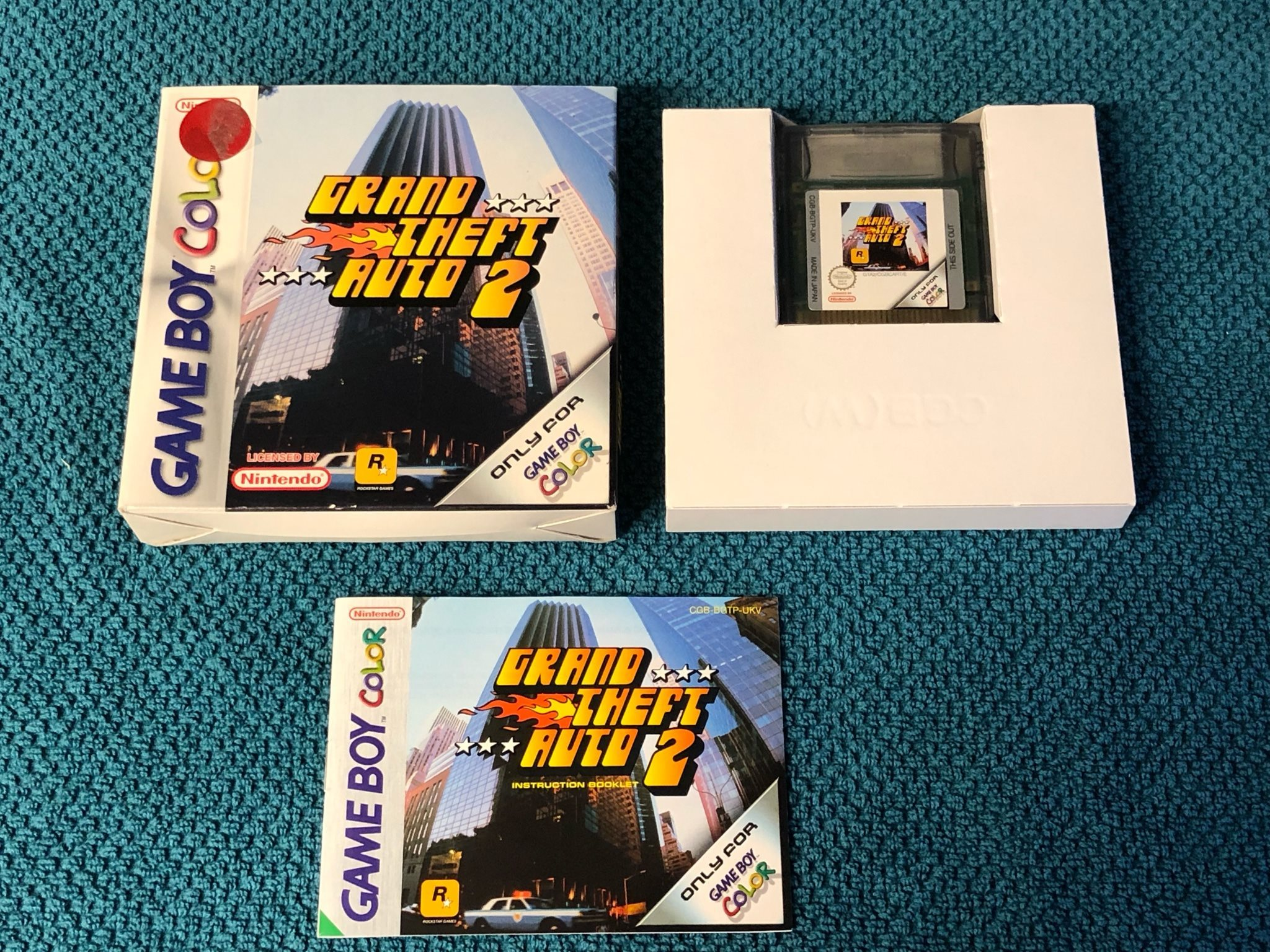 grand theft auto game boy color