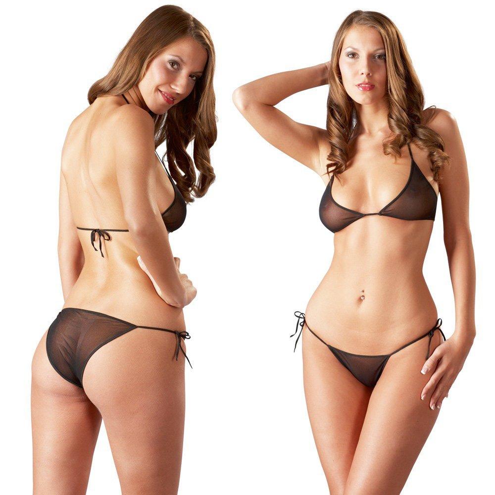 Transparente bikini
