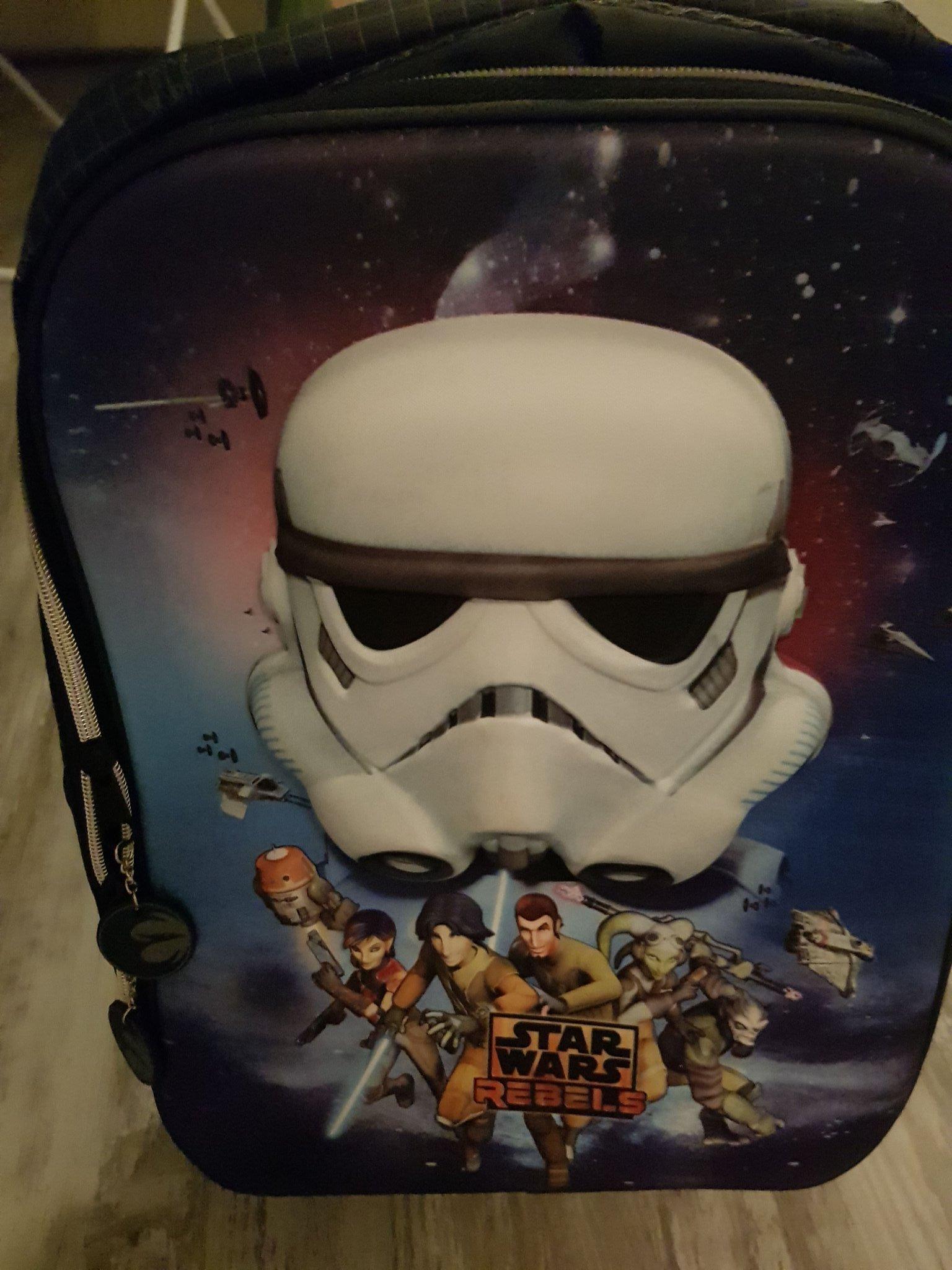 Star Wars resväska ryggsäck Ny