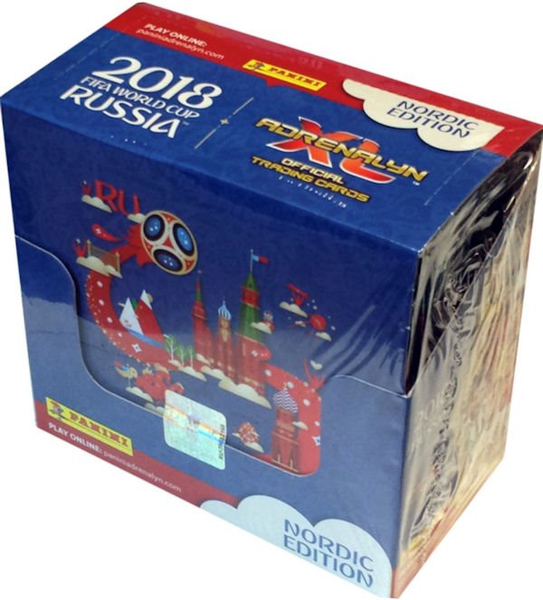 FIFA World Cup Russia Booster Adrenalyn XL 50-pack