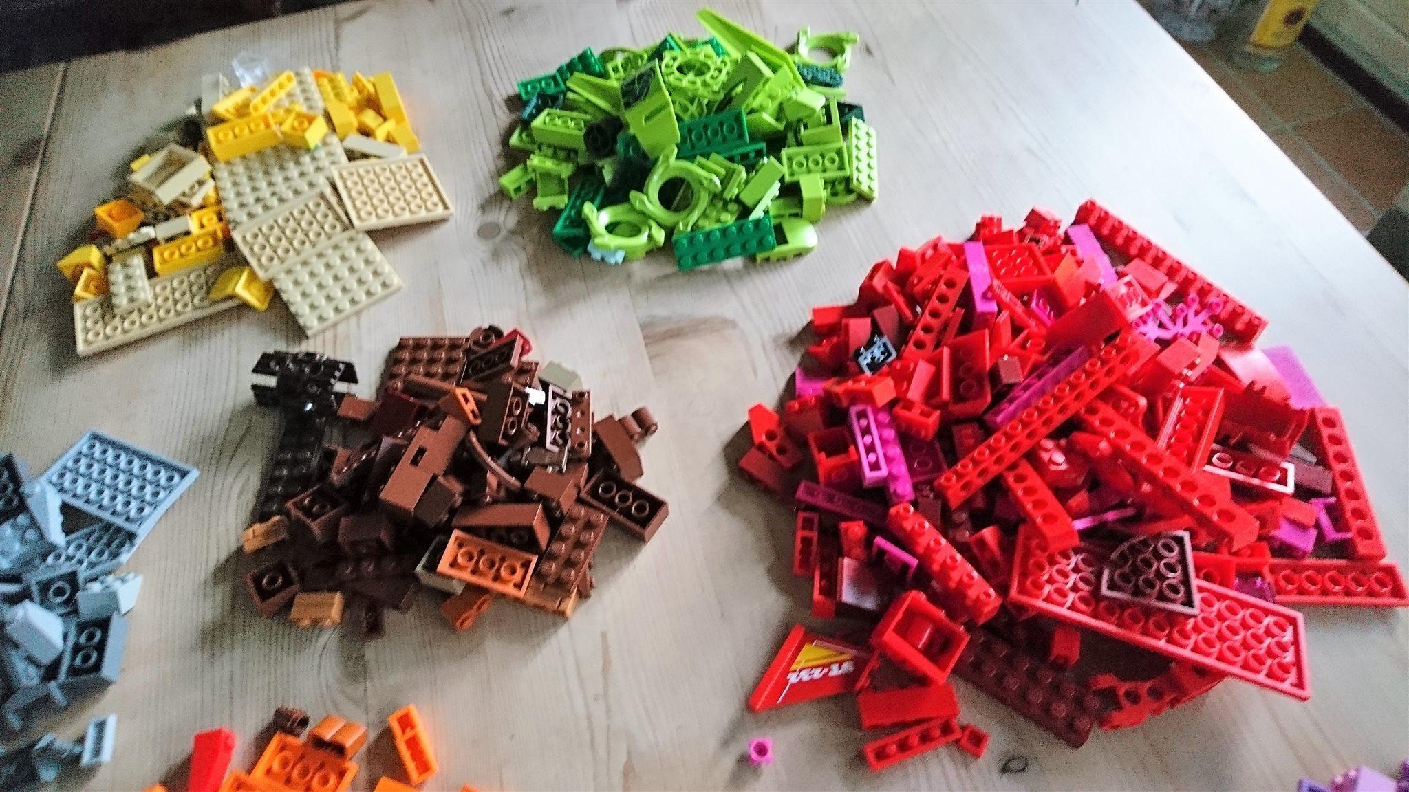 LEGO bitar bitar bitar 1,5kg f72f9a