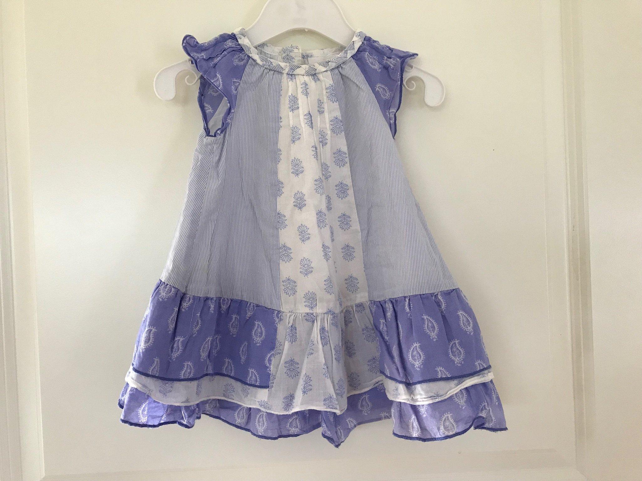 9627d28c86e3 Mjuk och fin klänning i storlek 68 från Baby by.. (354963865) ᐈ Köp ...