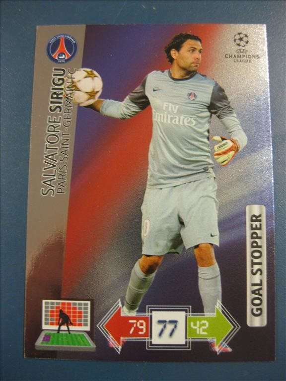 GOAL STOPPER -  SALVATORE SIRIGU -  PARIS SG - CHAMPIONS LEAGUE 2012-2013