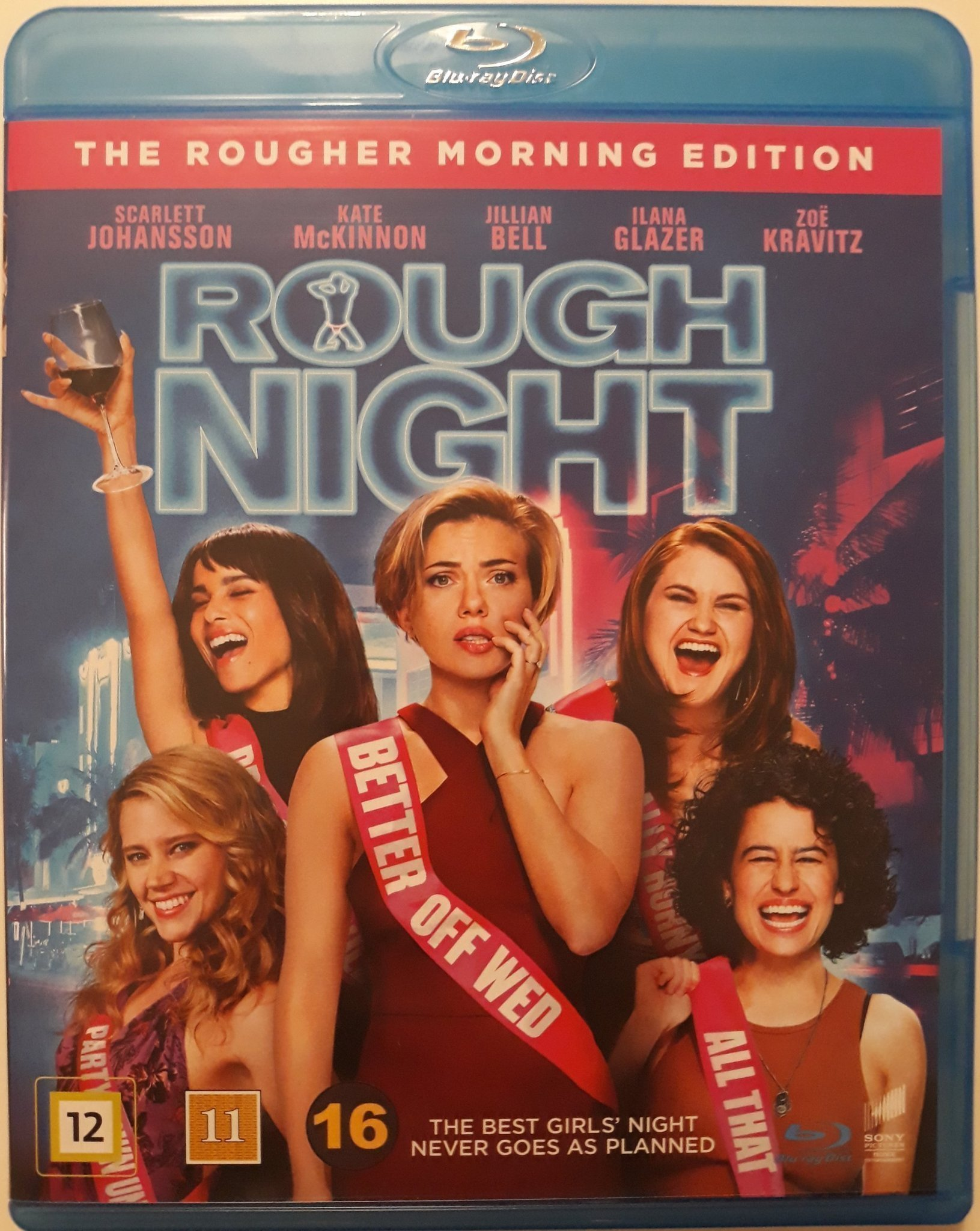 ROUGH NIGHT blu-ray