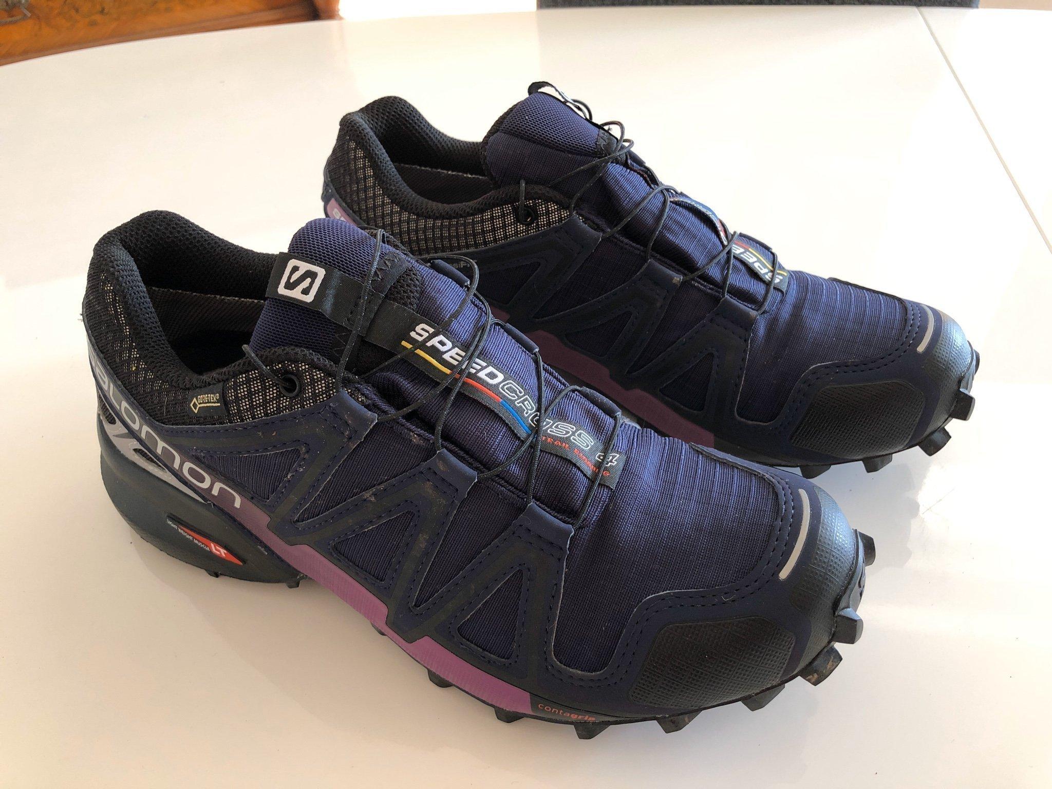 Salomon Speedcross 4 W Dam GTX Gore Tex UK 6,5 EU 40 löparsko trailsko