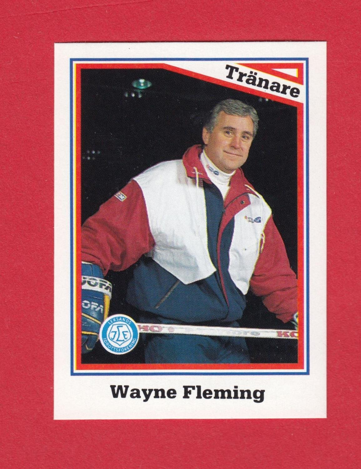 1993-94 Semic Elitserien #294	Wayne Flemming	Leksand