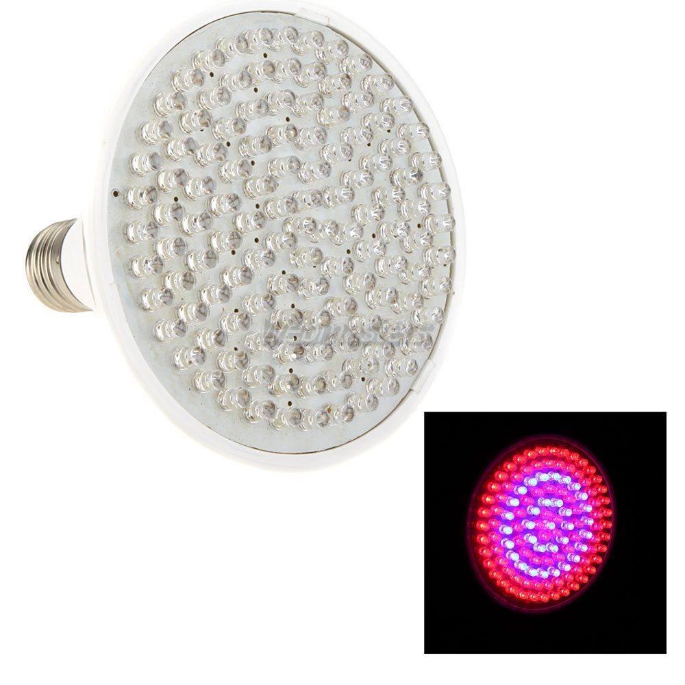 60 LED Växtlampa Grolampa växtbelysning odlingsbelysning Röd/Blå NASA
