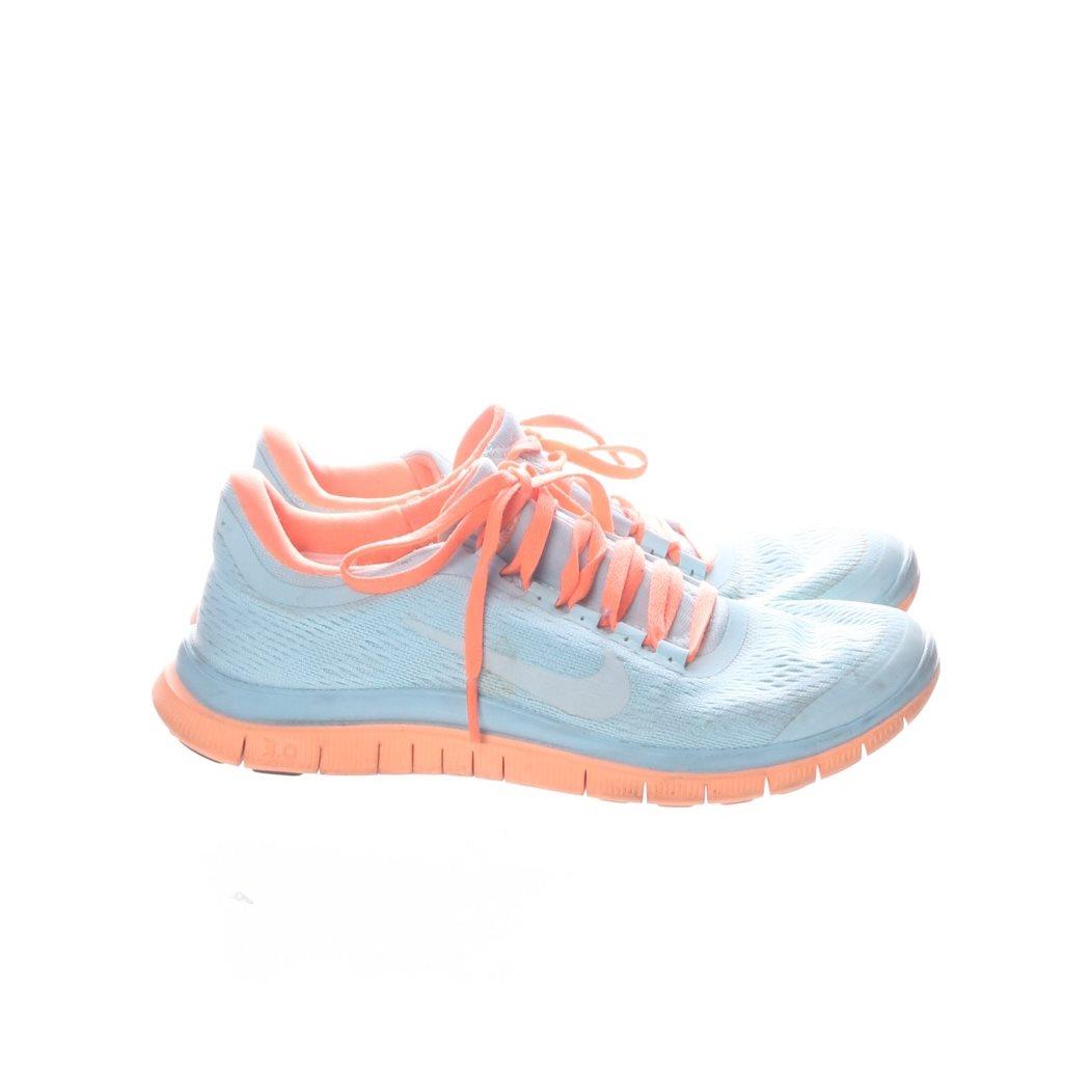 sports shoes bf875 1b88c Nike Free, Löparskor, Strl  38,5, Ljusblå Orange