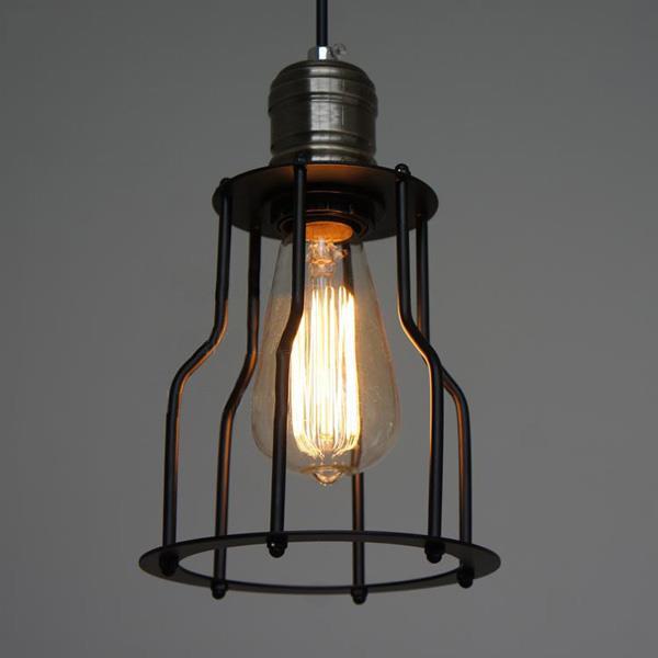 Lampa taklampa vintage / industri på Tradera.com - Taklampor ...