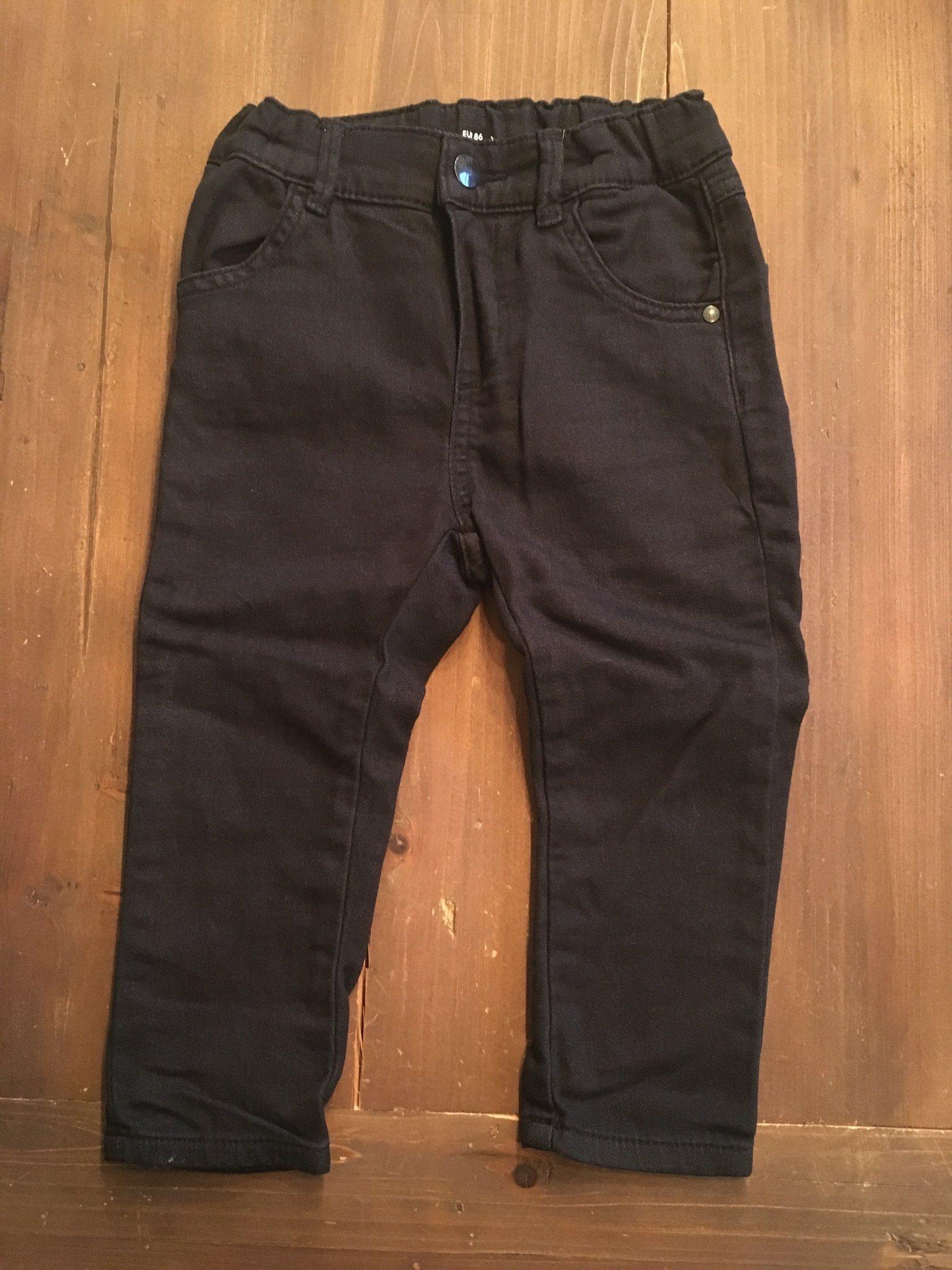 Svarta mjuka jeans i strechmaterial strl 86 Lin.. (339324869) ᐈ Köp ... 3b184811693e7