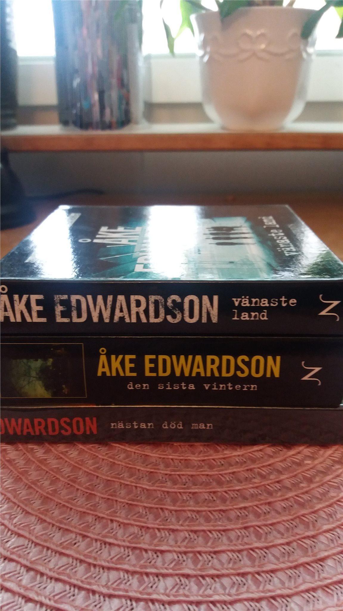 a03564a87b7 3 CD-böcker av Åke Edvardsson. spänning, krimin.. (343737231) ᐈ Köp ...