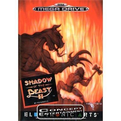 SHADOW OF THE BEAST 2 II (i box) till Sega Mega Drive