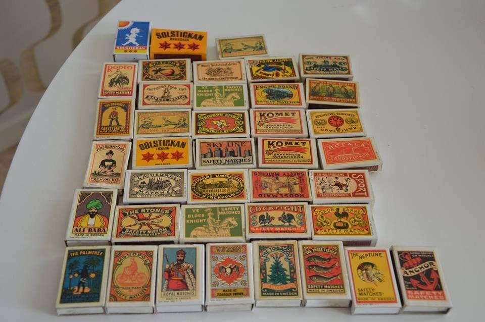 Tändsticksaskar 65 stycken i olika skick (330455090) ᐈ Köp på Tradera 5bbe82e22626c