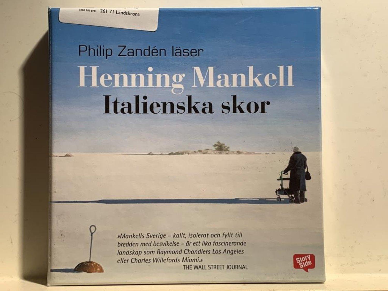 Italienska skor av Henning Mankell | Fria.Nu