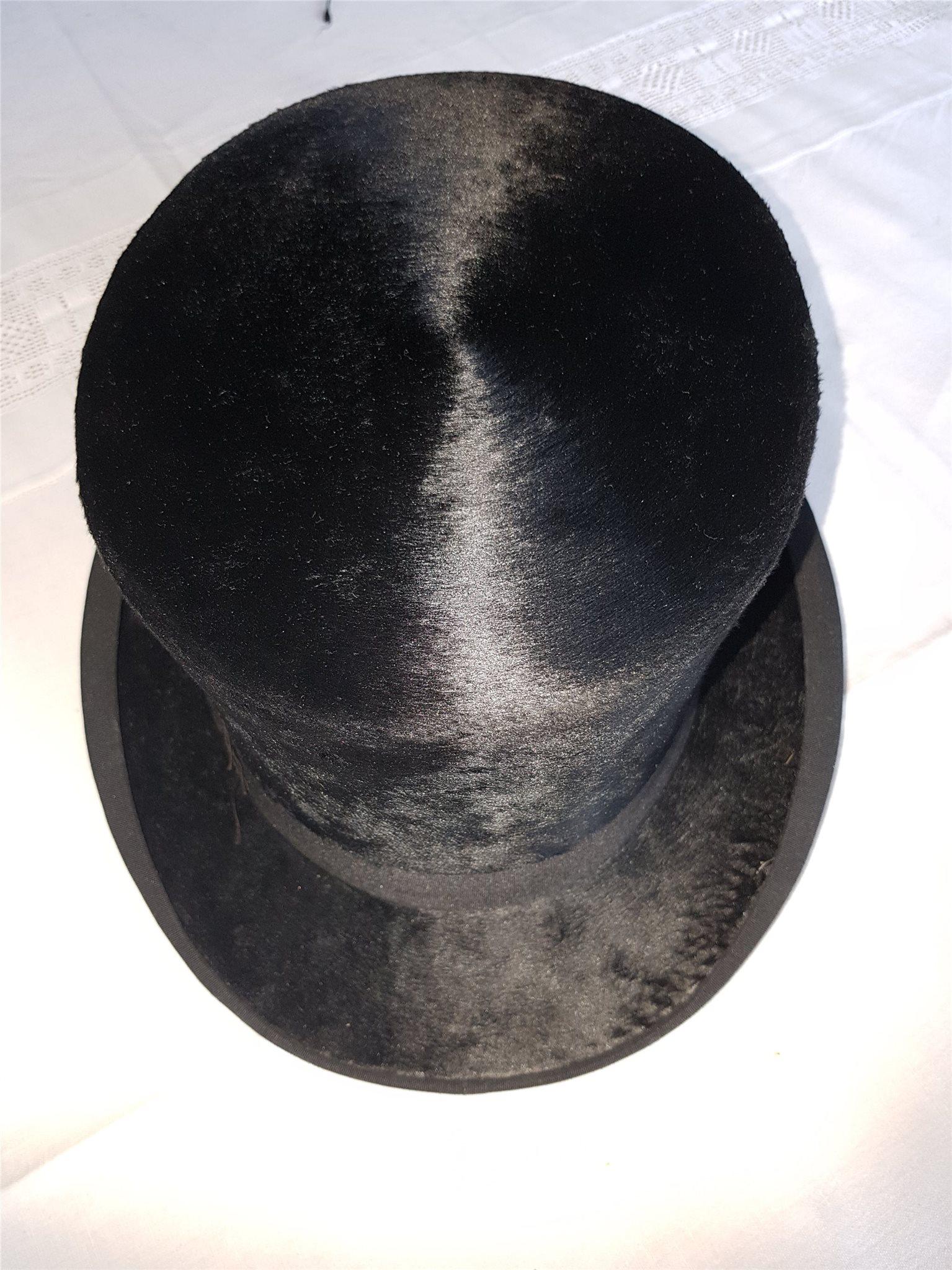 Fin Stormhatt Cylinderhatt Hög hatt från 30-tal.. (329555790) ᐈ Köp ... feb84db7d94bc