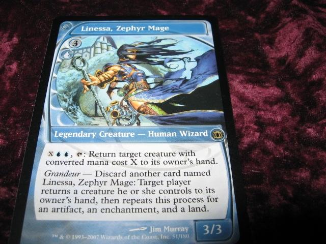 LINESSA,ZEPHYR MAGE RARE LEGEND(BLÅ FUTURE SIGHT)3/3