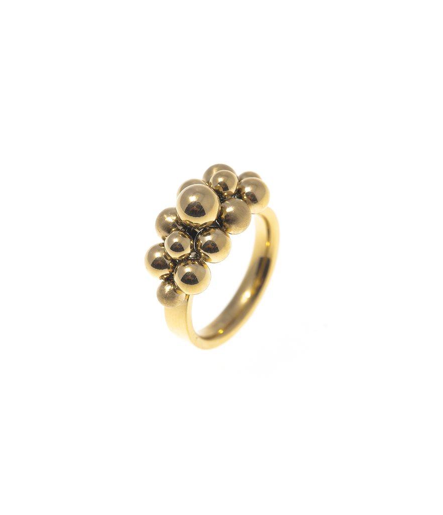 Bud to Rose Ring Crowd Large guld (308791555) ᐈ Fintinne på Tradera a52247978b4b3
