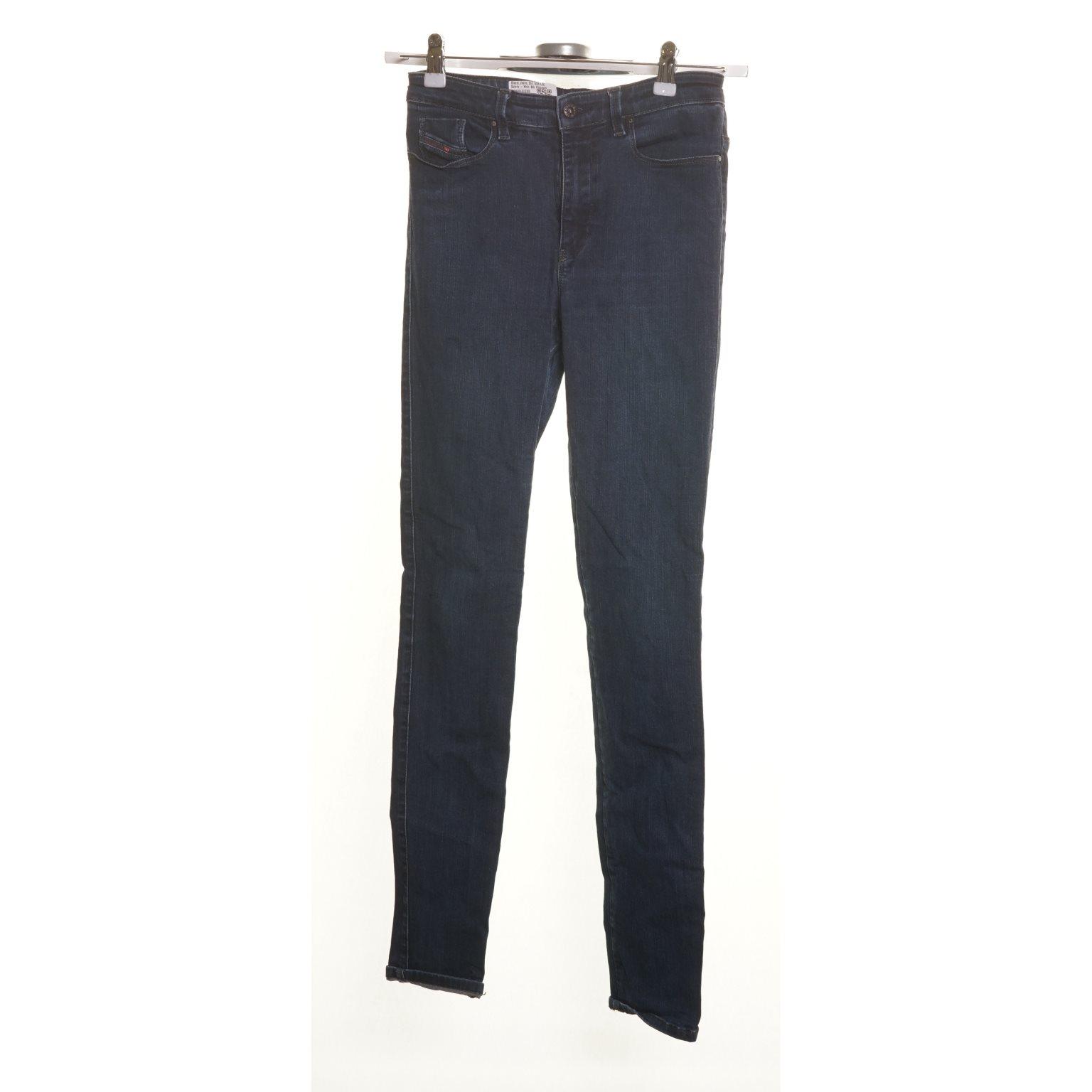 Diesel, Jeans, Strl: W26 L32, Skinny - High, Blå, Polyester